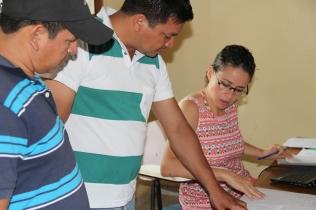 En clases UAP (Riberalta, 2013)